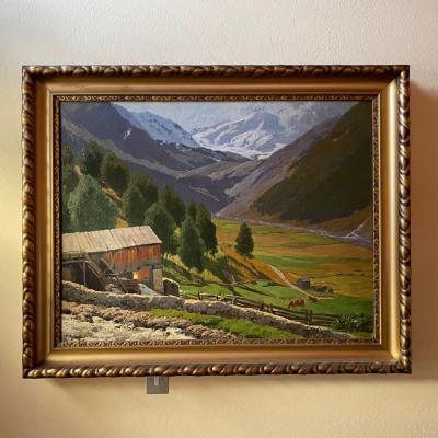 Landschaftsbild von Otto Günther Naumburg - thumb