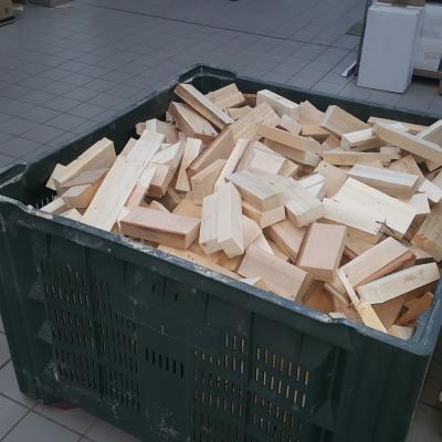 Brennholz fein geschnitten naturbelassen - thumb