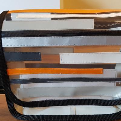 Handtasche aus LKW Plane - thumb