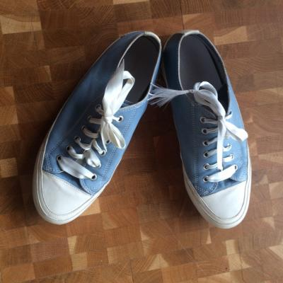 Candice Cooper Ledersneaker hellblau/weiß r. 38 - thumb