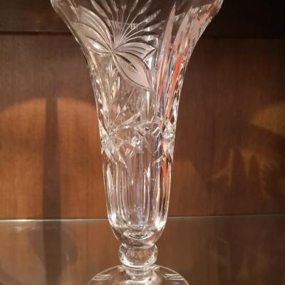 Blei-Kristall Vase - thumb