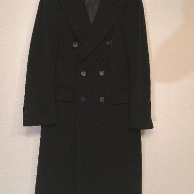 Langer Mantel aus reiner Kaschmir Wolle - thumb