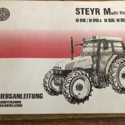 Betriebsanleitung Steyr 948 bis 958 - thumb