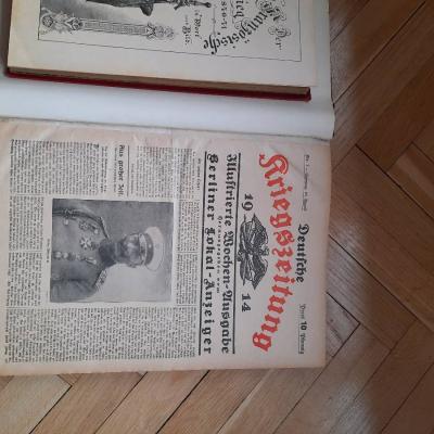 Deutsche Kriegszeitung 1914 - thumb