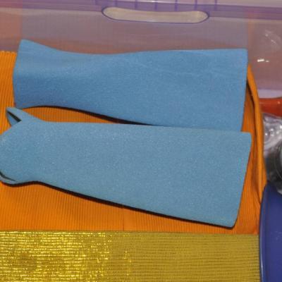 2 Tonvasen in hellen Blau - thumb