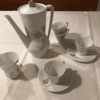 Hutschenreuther 18 CM 14 Porzellan Kaffeeservice - thumb