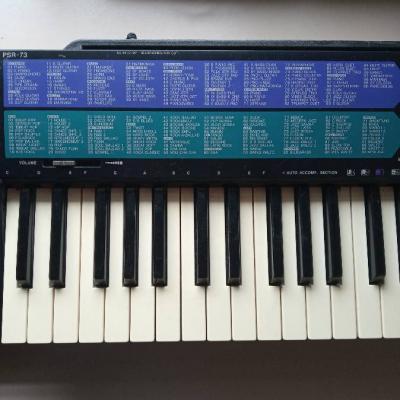 Keyboard (Yamaha) zu verkaufen - thumb