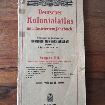 Deutscher Kolonialatlas 1911 + 2 Bücher zum Thema - thumb