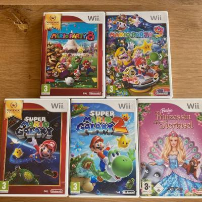 Wii Spiele - thumb