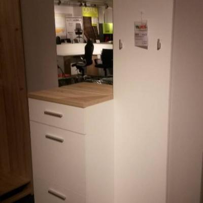 Garderoben Möbel mit Spiegel und Schuhschrank - thumb