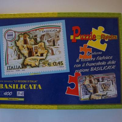 Puzzle Briefmarke Basilicata (400 Teile) - thumb