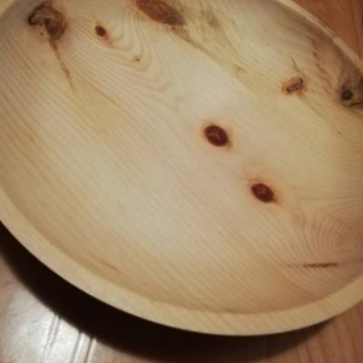 Gedrchselte Zirm-Holzteller - thumb
