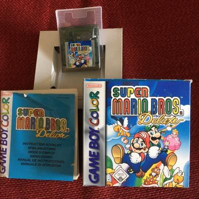 Super Mario Deluxe für Gameboy - thumb