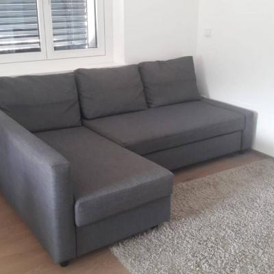 Sofa m. Ausziehfunktion - thumb