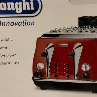 Vintage-Toaster Delonghi 4 Scheiben - unbenutzt - thumb