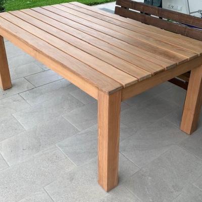 Maßgefertigter Massivholztisch von Möbeltischlerei - thumb