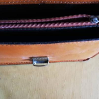 Leder Handtasche - thumb