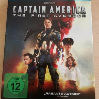 Captain America - The First Avenger (Blu-ray + DVD) - thumb