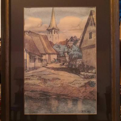 Orginal Gemälde - Heinrich Göttler - thumb