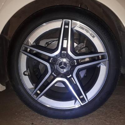 Orginale AMG Felgen mit Reifen - thumb