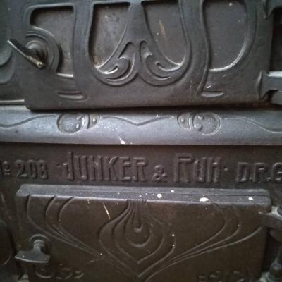 Vintage Holzofen Junker & Ruh n° 208 - thumb