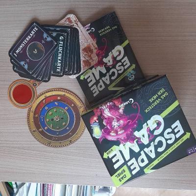 Escape Game Kids - Das Spiel - Das Versteck der Hexe - thumb