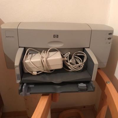 HP DeskJet 845c (funktionstüchtig!) ohne Kartusche zu verschenken - thumb