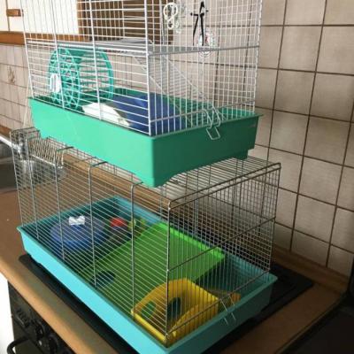 2 Hamsterkäfige - thumb