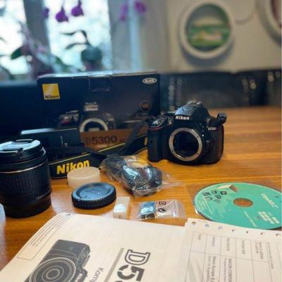 Nikon D5300 plus Zubehör - thumb