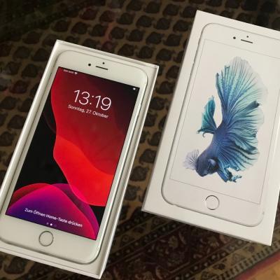 iPhone 6s Plus 32GB Silber/Weiß, neuwertig inkl. Zubehör - thumb