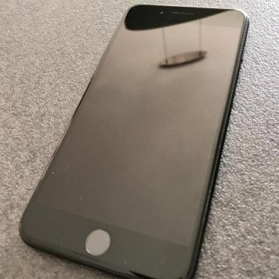 I Phone 7*, schwarz, 256GB, nagelneuer Akku - thumb