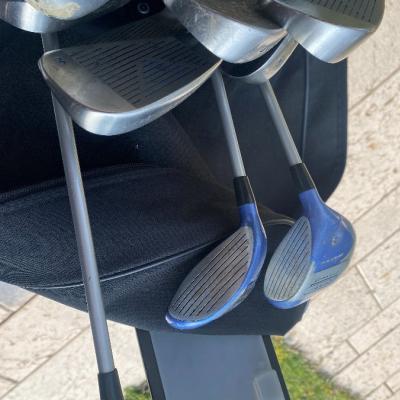Golfset komplett mit Trolley - thumb