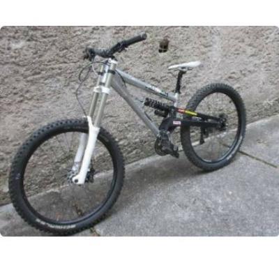 Downhill bike - thumb