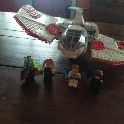 LEGO Star Wars T-6 Jedi Shuttle - 7931 - VOLLSTÄNDIG - thumb