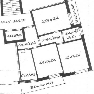 Große 3-Zi.-Wohnung in ruhiger, zentraler Lage in Bozen zu vermieten - thumb