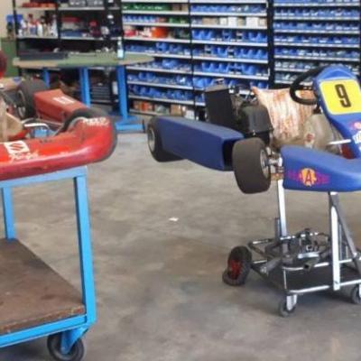 Go-kart 125ccm Rotax automatico und Gokart 60ccm - thumb