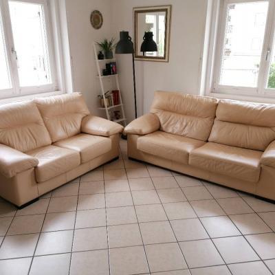 Leder Couch - thumb