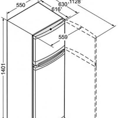 Kühlschrank Liebherr Top Zustand - thumb