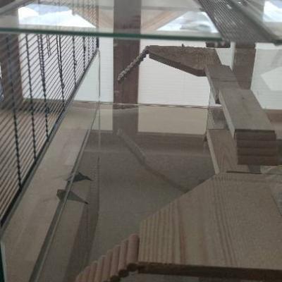 Großes Terrarium für Hamster oder kleines Nagetier - thumb