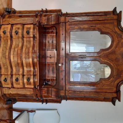 Schöner, antiker Schrank (Trumeau) - thumb