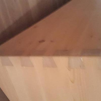 Massivholz Bett - thumb