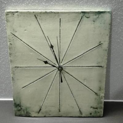 Uhr in Keramik - thumb