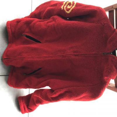 rote Jacke mit Kapuze - thumb