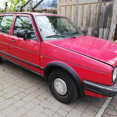 VW Golf 2 GL Rot - thumb
