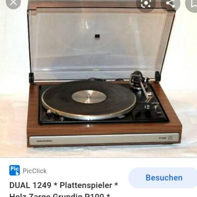 Plattenspieler GRUNDIG P100 in gutem Zustand - thumb