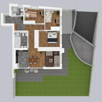 4,5 Neubauwohnung mit Garten im Zentrum von Naturns - thumb