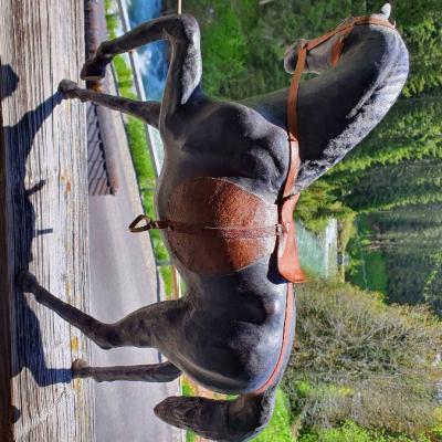 Kutsche mit Pferd - thumb