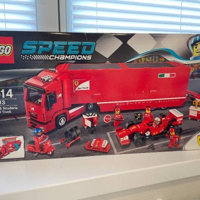 LEGO® Speed Champions F14 T und Scuderia Ferrari Truck 75913 - thumb