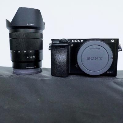 Sony Alpha 6000 und Objektiv  F4 16-70 Zeiss - thumb