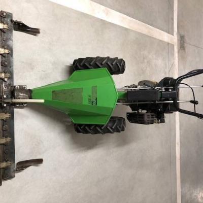 Mähmaschine mit Heuwender - thumb